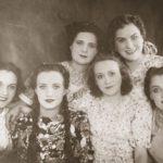 первые выпускники актерской студии при Коми театре (1947 г.)