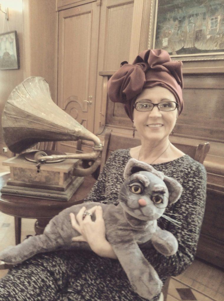 тетушка и кот