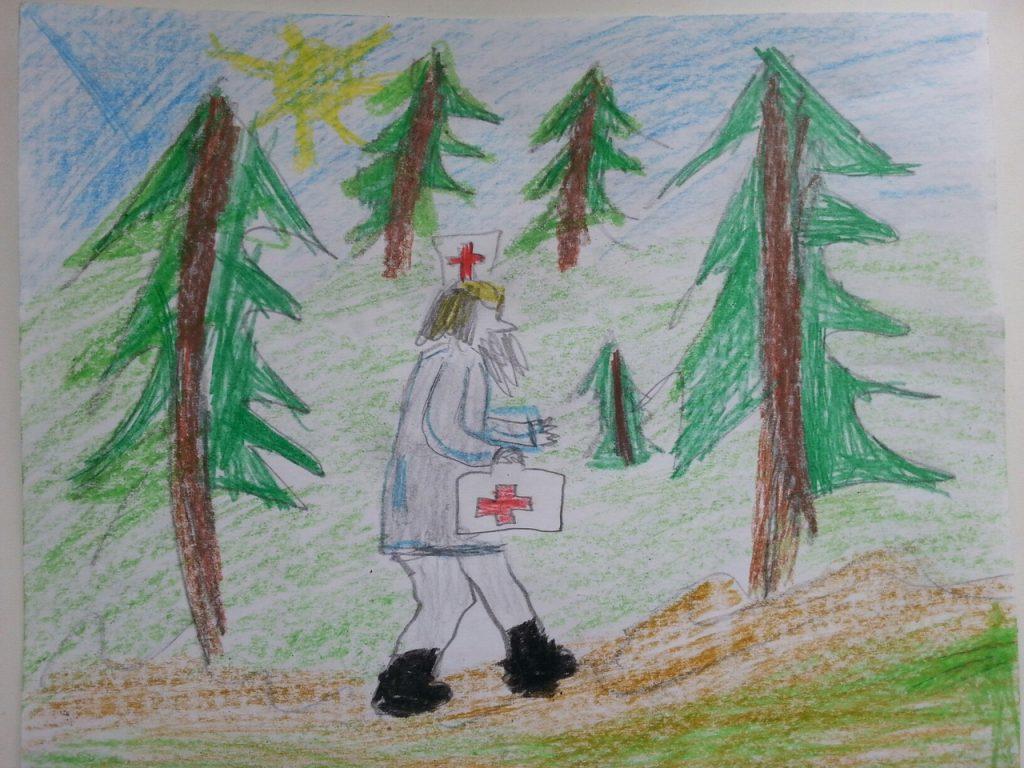 Айболит идет через леса