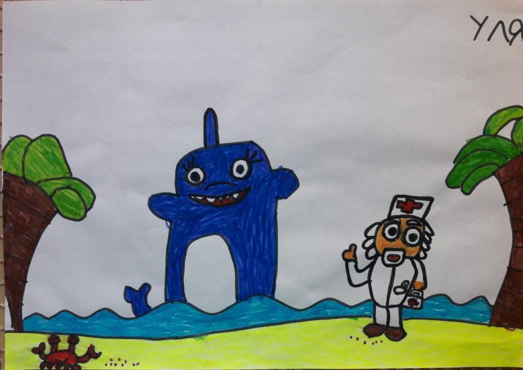 Айболит и акула