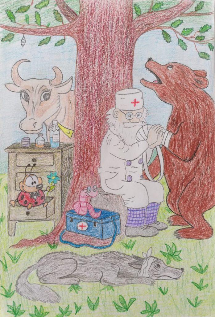 и корова, и волчица, и жучок, и червячок, и медведица